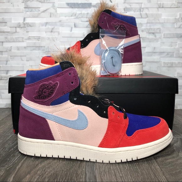 huge selection of a1240 7a509 Nike Air Jordan Retro 1 High OG Court Lux Viotech Boutique